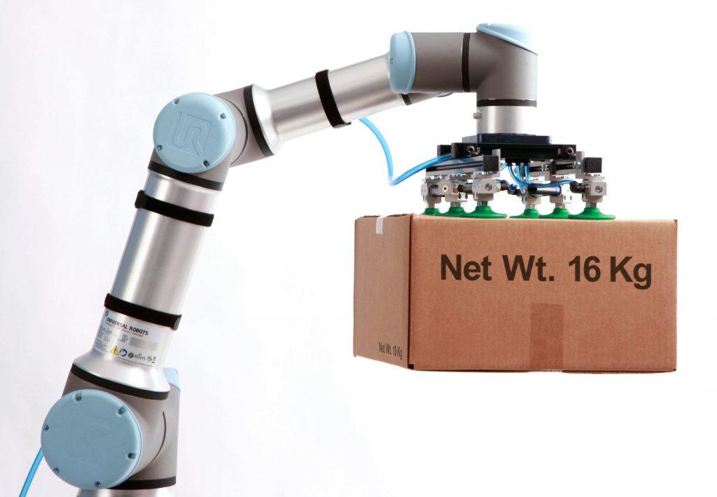 Robots- garras - pinzas en la automatización industrial